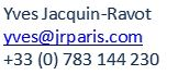 contact jrparis online